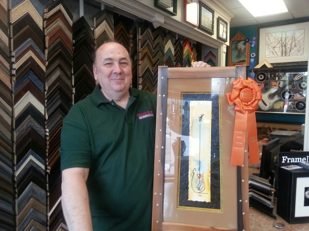 John Barlow's Award Winning Framing in Holland, OH
