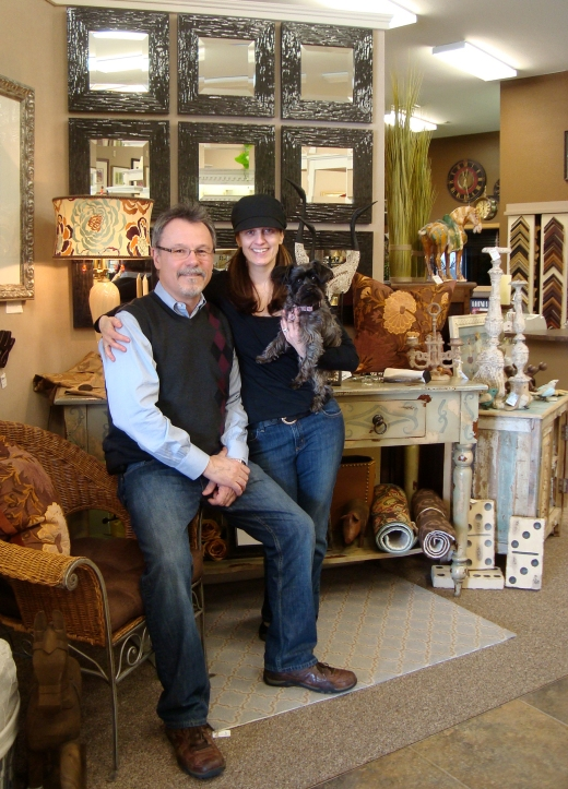 John Ranes II with Sarah Ranes own and operate The Frame Workshop, a frame shop, gallery and gift boutique in Appleton, Wisconsin