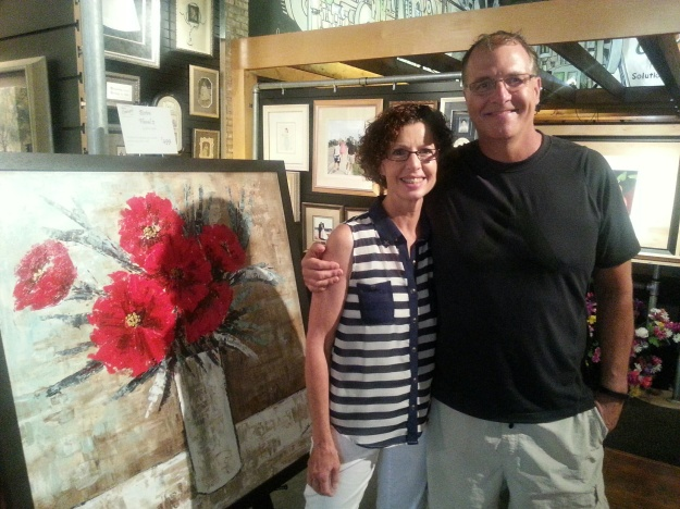 Ken and Pat Baur of Framing Concepts Gallery