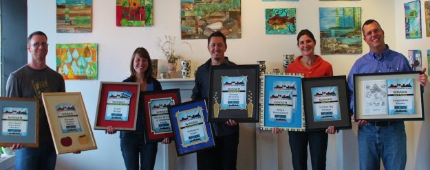 Toni and Heather Cox and their award winning staff at Casco Bay Frames & Gallery in Portland, Maine