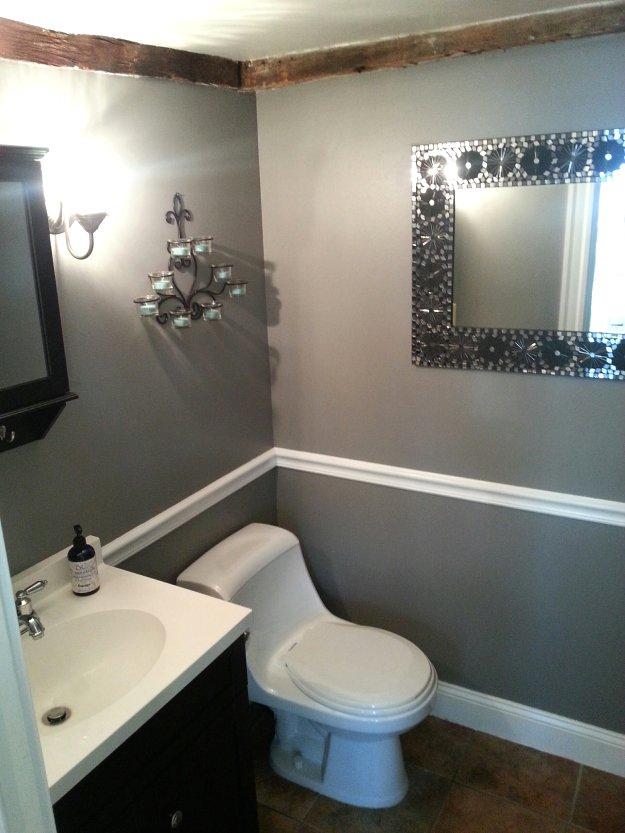 Pristine vanity at Mason & Madison in Middleton, Massachusetts.