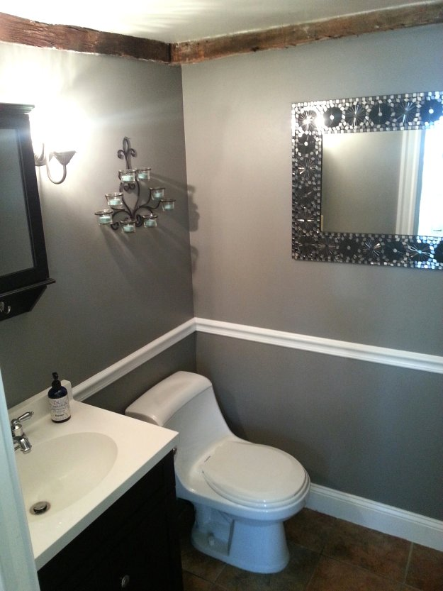 Pristine vanity at Mason & Madison in Middleton, Massachusetts.