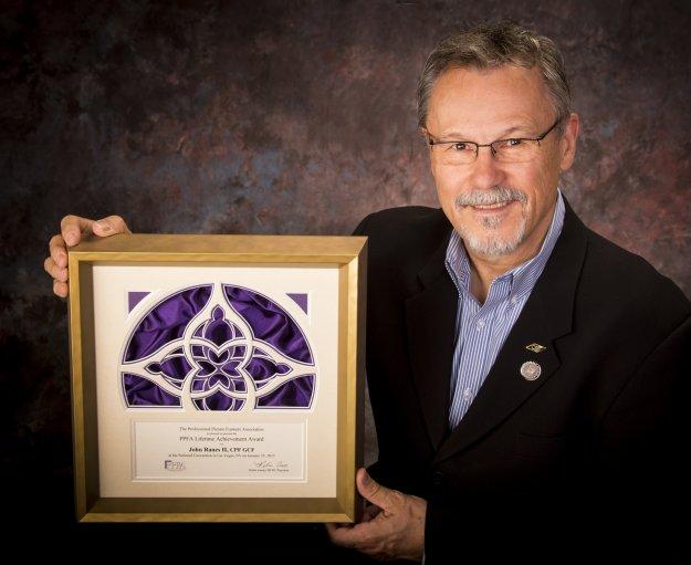 John Ranes II, CPF, GCF - PPFA Lifetime Achiement Award